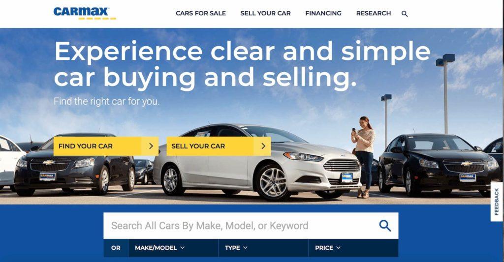 Carmax Un site de voiture doccasion aux Etats Unis 1024x533 1 - Trouver le site de vente de voiture d'occasion aux etats unis