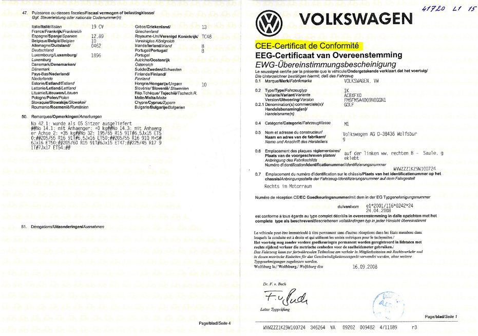 IMMATRICULATION VOITURE ALLEMANDE MOTORIMPORT - Immatriculer voiture allemande en france et homologuation motorimport Munich