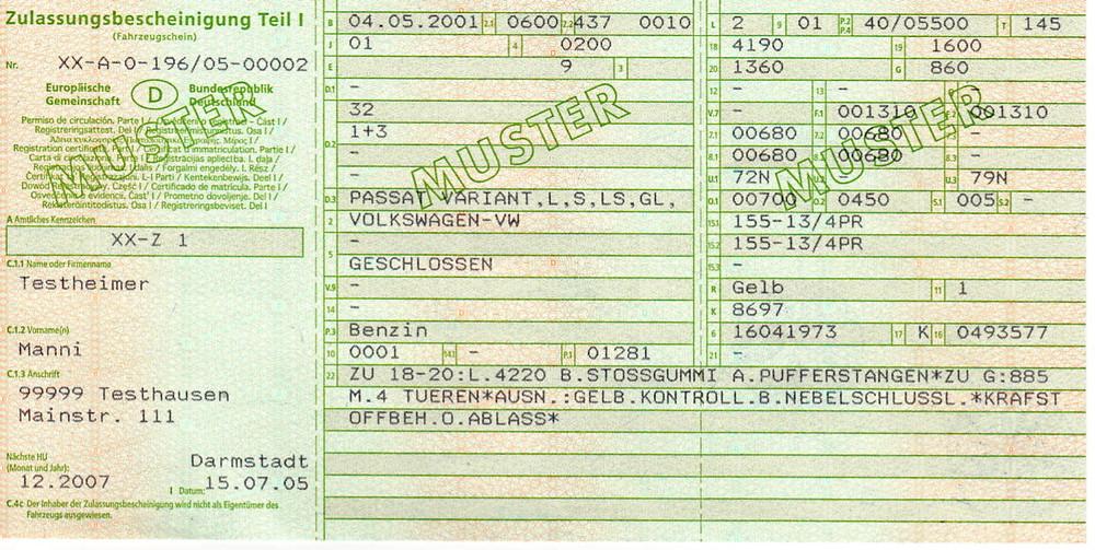IMMATRICULER UNE VOITURE ALLEMANDE - Immatriculer voiture allemande en france et homologuation motorimport Munich