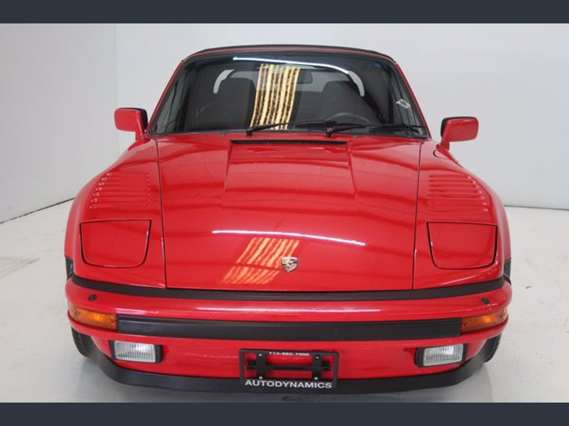 Porsche 911 Turbo Cabriolet2 - Porsche 911 Turbo Cabriolet 1987