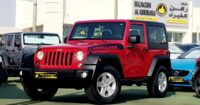 ALMOST NEW CAR..Jeep Warangler JL..Top Of The Range..GCC Specs..Full Service Hstory..Single Owner