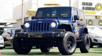 ALMOST NEW..Jeep Warangler ((MANUAL)) WARRANTY..FULL SERVICE HISTORY..GCC GULF SPECS CAR