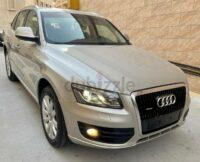 Audi Q5 S-Line . Quattro. 2013. GCC specification 3.2L 6 Cylinder ,267 BHP. SUV 125000 kms. Panoram