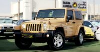!!!!!LIKE NEW..JEEP WRANGLER ((Sahara Unlimited)) GCC Specs..Full Jeep Service History..Single Owner